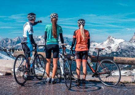 Roadbike tour in Alta Badia