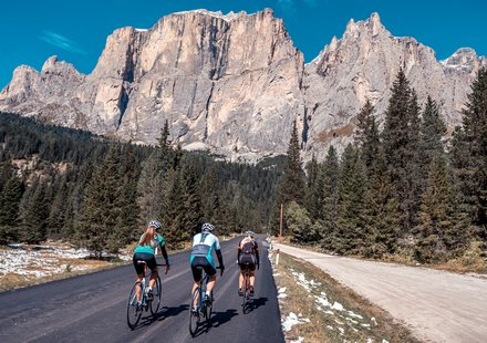 Roadcycling in the Dolomites