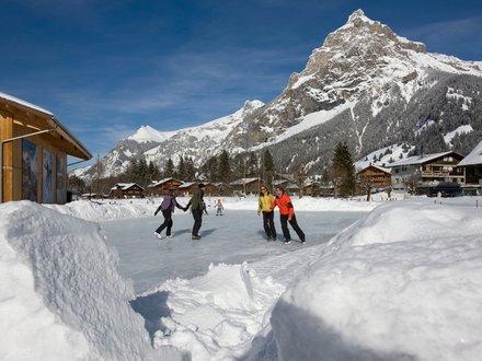 Schlittschuhlaufen in der Schweiz