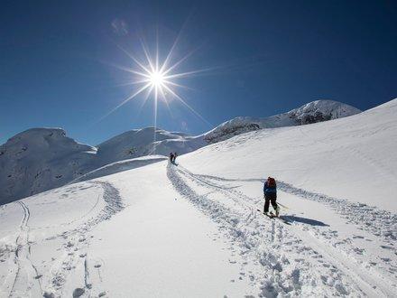 Ski tour in Kötschach-Mauthen