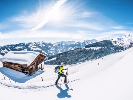 Ski Touring in the Alps of Kitzbühel