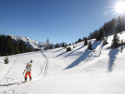 Ski touring in Zell am See - Kaprun