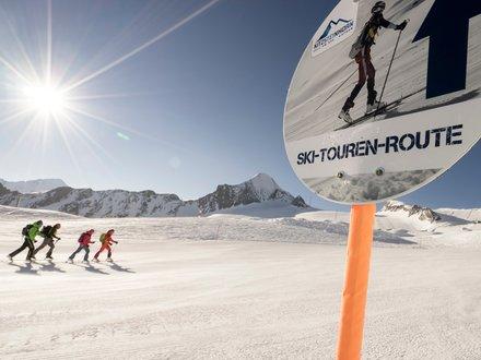 Ski Touring trail