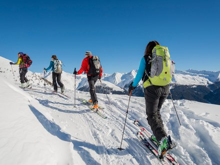 Ski tours in Gsieser Tal