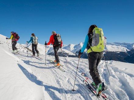 Ski tours in Gsieser Tal