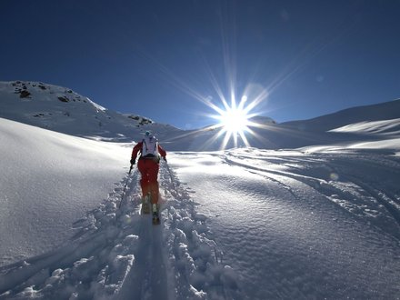 Skitourengehen im Lesachtal
