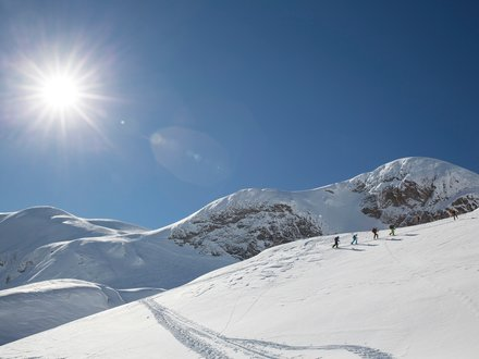 Skitourengehen in Kötschach-Mauthen