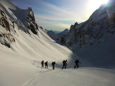 Skitourengehen Karnische Alpen