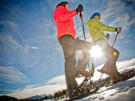 Snowshoeing in Chiemgau ©Chiemgau Tourismus