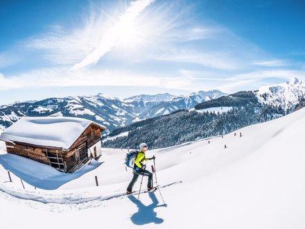 Tourenski in den Kitzbüheler Alpen
