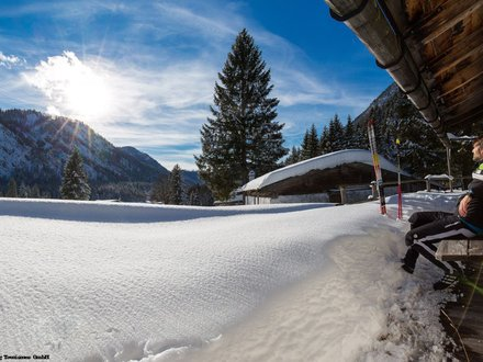 Winter holidays in Germany © Ruhpolding Tourismus GmbH