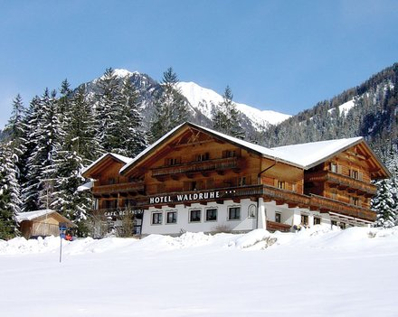 XC ski holiday at Hotel Waldruhe