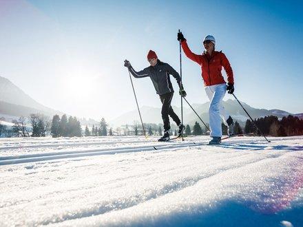 XC ski holidays in Chiemgau © Ruhpolding Tourismus GmbH