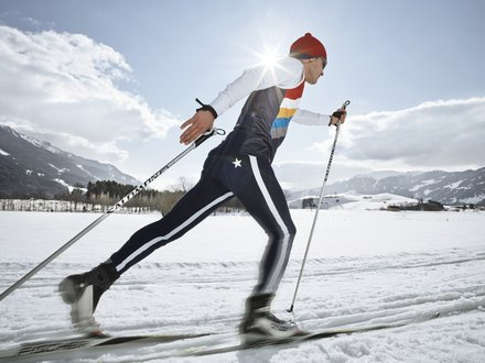 XC ski holidays in Salzburg © Lolin