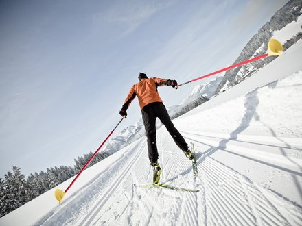 XC ski holidays in the Kitzbüheler Alps