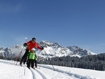 XC ski holidays in Val di Fiemme © Modica