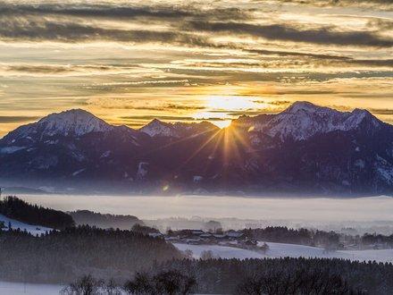 XC skiing Chiemgau ©Chiemgau Tourismus