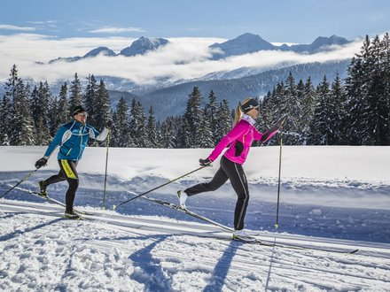 XC skiing in Chiemgau ©Chiemgau Tourismus