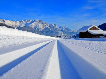 XC skiing in Saalfelden Leogang © Helmut Bauer