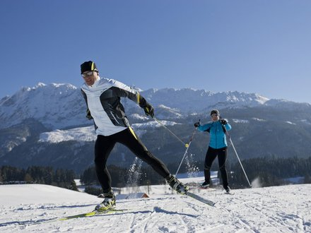 XC skiing in the Ausseerland