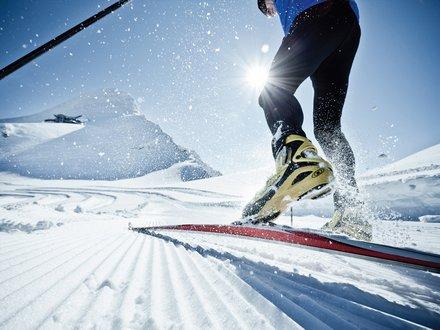 XC skiing in Zell am See - Kaprun
