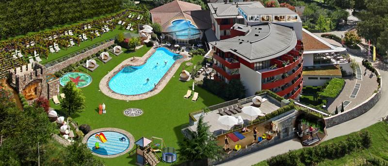 oasi benessere - hotel lindenhof a naturno ? alto adige - Piccolo Giardino Feng Shui