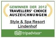 TripAdvisor Travellers Choice Award 2012