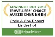 TripAdvisor Travellers Choice Award 2013