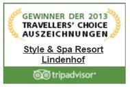 TripAdvisor Travellers Choice Award 2013