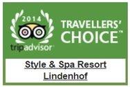 TripAdvisor Travellers Choice Award 2014