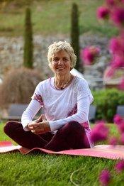 Yoga-Lehererin Monika Chitra Pedross