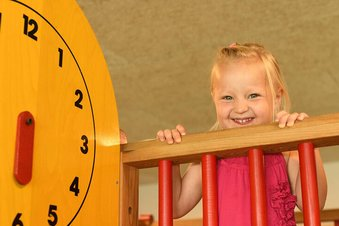 Spielturm in der Kinderbereuung