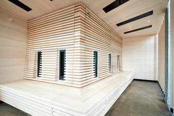 Infrared sauna at the hotel Lindenhof