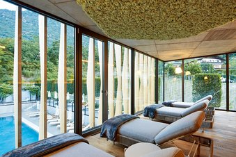 Relaxation room at the Wellness Hotel Lindenhof